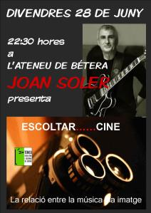 Joan Soler Escoltar Cine