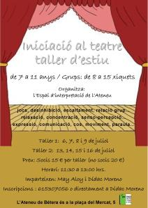 Teatre juliol