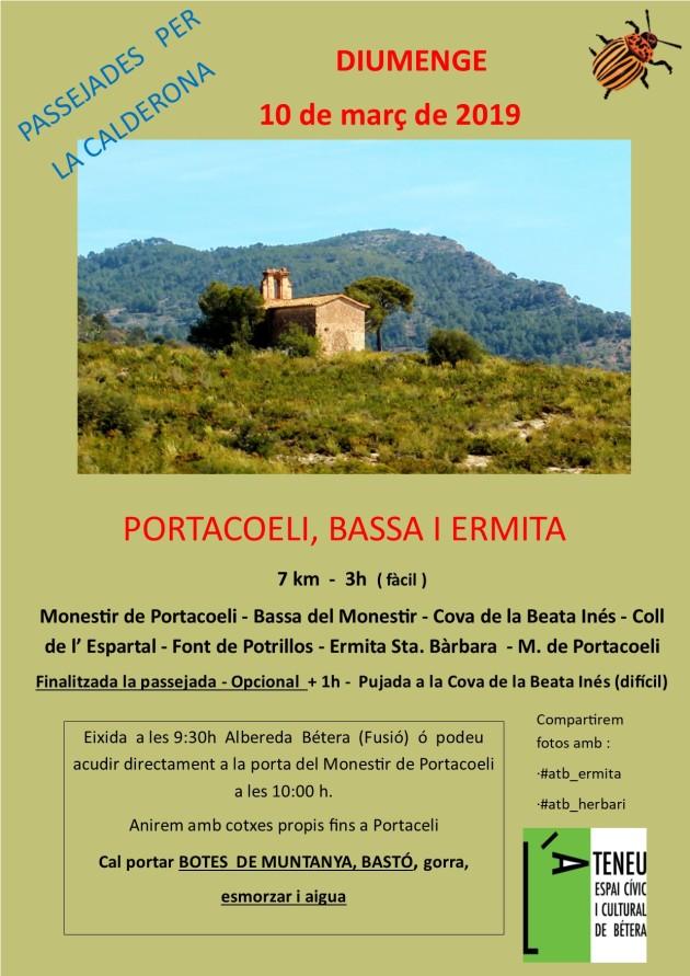 març 2019 - Bassa Portaceli